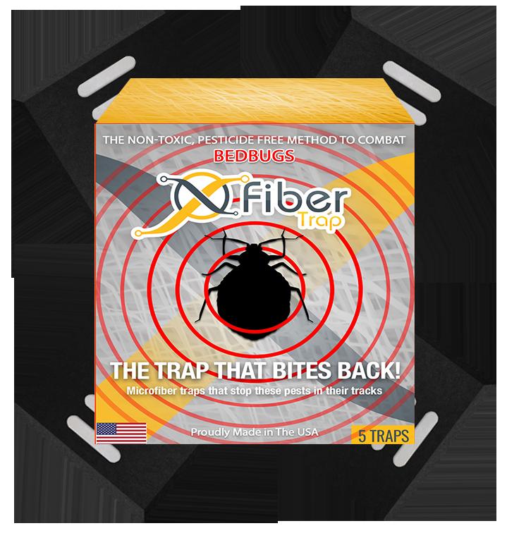 fibertrap bedbug trap